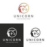 Logotipo del unicornio Fotografía de archivo libre de regalías