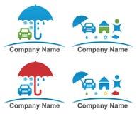 Logotipo del vector de la compañía Foto de archivo libre de regalías