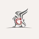 Logotipo del vector del grifo Fotos de archivo libres de regalías