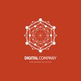 Logotipo del vector o diseño abstracto moderno del elemento Mejor para la identidad y los logotipos Forma simple Fotos de archivo