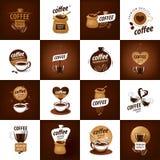 Logotipo del vector para el café ilustración del vector