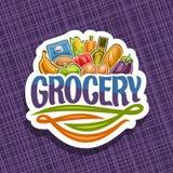 Logotipo del vector para el colmado Imagen de archivo libre de regalías