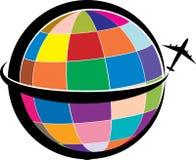 Logotipo del viaje Imagen de archivo libre de regalías