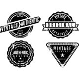 Logotipo del vintage ilustración del vector