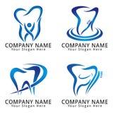 Logotipo dental del concepto Fotos de archivo