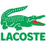 Logotipo do ícone de Lacoste ilustração stock