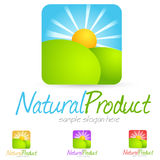 Logotipo do ambiente Imagem de Stock