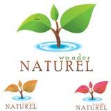 Logotipo do ambiente Fotos de Stock