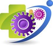 Logotipo do amigo da fábrica Imagens de Stock