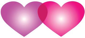 logotipo do amor Foto de Stock