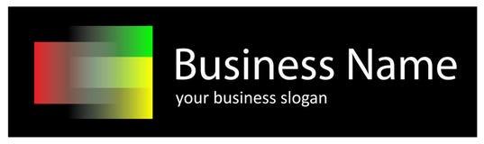 Logotipo do arco-íris Imagem de Stock