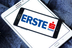Logotipo do banco do grupo de Erste Imagem de Stock