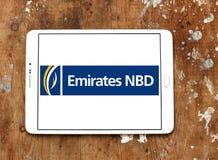 Logotipo do banco dos emirados NBD Foto de Stock Royalty Free