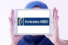 Logotipo do banco dos emirados NBD Fotos de Stock