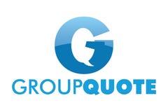 Logotipo do bate-papo de g da letra Fotos de Stock