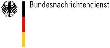 Logotipo do BND - Alemanha Imagem de Stock Royalty Free
