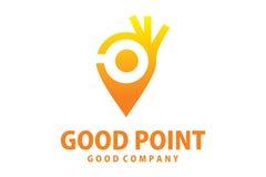 Logotipo do bom ponto Foto de Stock Royalty Free