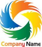 Logotipo do Brushstroke Foto de Stock Royalty Free