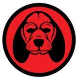 Logotipo do cão Fotos de Stock
