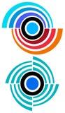 Logotipo do círculo ilustração royalty free