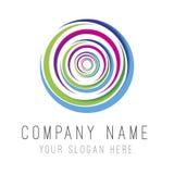 Logotipo do círculo Imagens de Stock Royalty Free