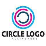 Logotipo do círculo de cor Imagens de Stock Royalty Free