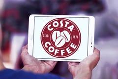 Logotipo do café da costela Imagens de Stock