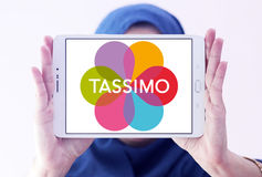 Logotipo do café de Tassimo Foto de Stock Royalty Free