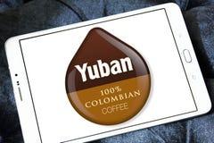 Logotipo do café de Yuban Fotografia de Stock