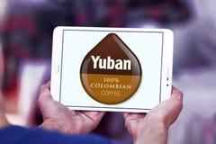 Logotipo do café de Yuban Imagens de Stock Royalty Free