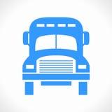 Logotipo do caminhão (ícone) Fotos de Stock