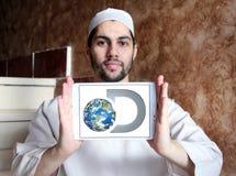 Logotipo do canal de descoberta imagens de stock