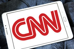 Logotipo do canal de notícias do CNN fotos de stock