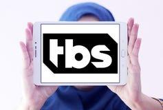 Logotipo do canal de televisão de TBS Fotos de Stock