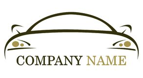 Logotipo do carro Imagem de Stock Royalty Free