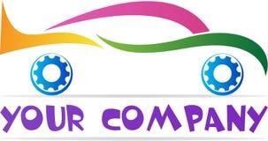 Logotipo do carro ilustração do vetor