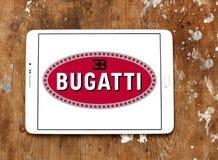 Logotipo do carro de Bugatti Fotografia de Stock Royalty Free