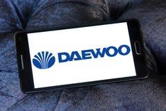 Logotipo do carro de Daewoo Imagens de Stock