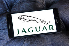 Logotipo do carro de Jaguar Foto de Stock