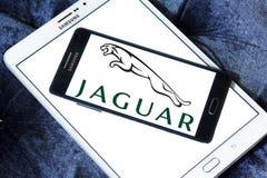 Logotipo do carro de Jaguar Imagem de Stock
