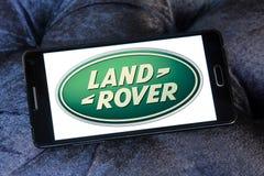 Logotipo do carro de land rover Imagem de Stock