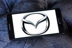 Logotipo do carro de Mazda Imagens de Stock Royalty Free
