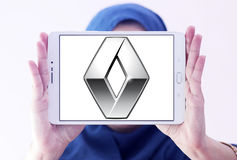 Logotipo do carro de Renault foto de stock royalty free