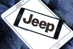 Logotipo do carro do jipe Imagem de Stock