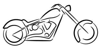 Logotipo do ciclo de motor ilustração stock