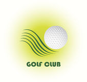 Logotipo do clube de golfe ilustração do vetor
