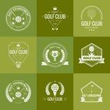 Logotipo do clube de golfe Fotografia de Stock Royalty Free