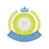 Logotipo do clube de golfe Ilustração do vetor Fotografia de Stock Royalty Free