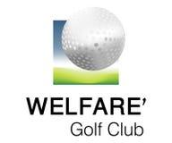 Logotipo do clube do bem-estar Imagem de Stock Royalty Free