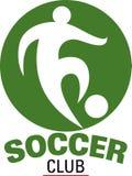 Logotipo do clube do futebol Imagem de Stock